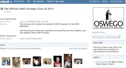 One of hundreds of fraudulent Facebook groups.