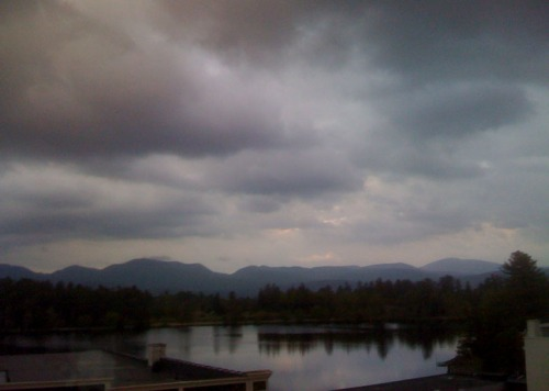 Fig. A: The view of Mirror Lake at dusk. Priceless.