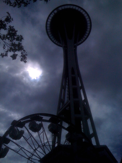 Trivia question: What do the Ferris Wheel and Seattle's Space Needle have in common?