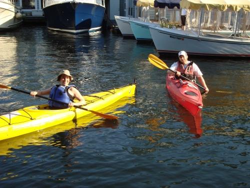 Ready to row.