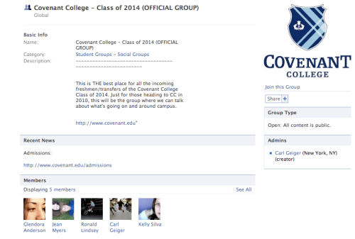 Not Covenant College