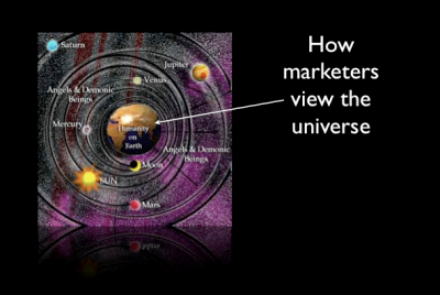 How marketers view the universe