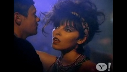 "Pat Benatar in ""Love Is A Battlefield"""