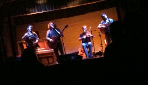 Le Vent Du Nord performing at the Nelson Odeon