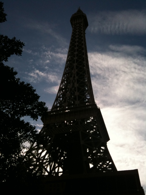 Eiffel Tower, the Paris Hotel version