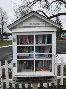 A little free library in Fair Haven